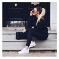 146 cute sporty outfits ideas try this fall – page 1 Fashion Mode, Fashion 2020, Look Fashion, Fashion Styles, Winter Fashion, Daily Fashion, Mode Outfits, Fall Outfits, Fashion Outfits