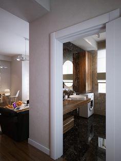 Beautiful bathroom design with modern theme.... | Visit : roohome.com  #bath #bathroom #design #decoration #fabulous #unique #simple #creative #beautiful #elegant #interior #great