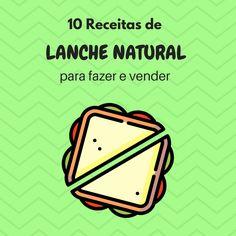 10 Receitas de Sanduíche Natural para Vender