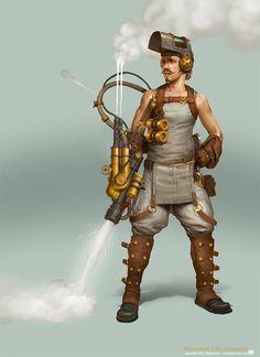 Image result for steampunk adventurer