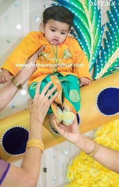 Traditional Designer kids wear for baby boy. Baby Boy Fashion Clothes, Baby Boy Outfits, Kids Outfits, Kids Fashion, Ethnic Wear For Boys, Kids Indian Wear, Boys Wear, Baby Boy Dress, Baby Dresses