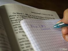 How to Take Notes from a Textbook: 6 Steps.
