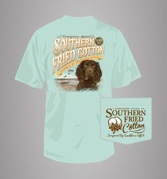 Southern Fried t-shirts featuring the Boykin Spaniel.