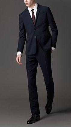 Doufine Men Fold-Collar Business 2 Button Plaid Slim Fit Blazer Jacket Coat
