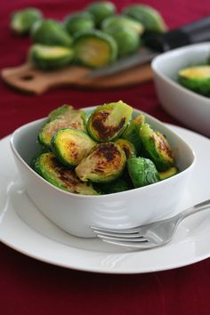 Caramelized Brussel Sprouts with Brown Butter