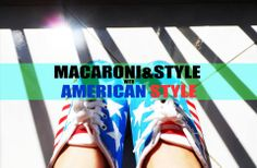 Amerrican flag sneakers by Macaroni&Style.  https://www.facebook.com/photo.php?fbid=256342521143935&set=a.266868620091325.56487.250924128352441&type=3&theater