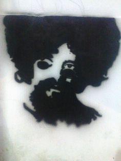personalização em ambientes no estilo grafite. uma homenagem a Raul Seixas.