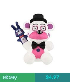 Funko Five Nights Sister Location-Funtime Freddy Collectible Plush: From five nights at Freddy's: sister location, funtime Freddy, as a stylized plush from Funko! Check out the other plushies figures from Funko! collect them all! Bear Cartoon, Cartoon Kids, Freddy Plush, Sister Location, Novelty Items, Five Nights At Freddy's, Plushies, Pet Toys, 8th Birthday