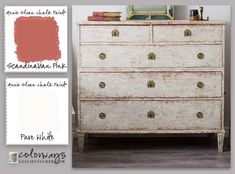 Swedish Gustavian Chest | Colorways with Leslie Stocker
