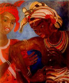 Orovida Camille Pissarro Dancing girls, 1938–1938