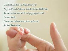 Die schönsten Sprüche zur Geburt: Was für ein Wunderwerk!