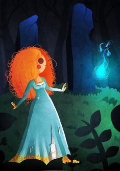 "Merida by Nokiramaila.deviantart.com on @DeviantArt- From ""Brave"""