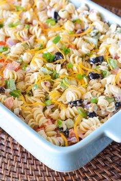 Bacon Ranch Pasta Salad - A Pumpkin And A Princess