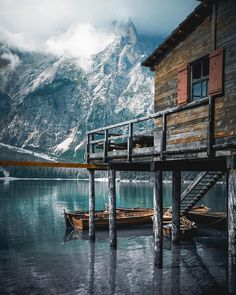 "@tentree ""Tag someone you'd bring here! Enjoying the outdoors on Lago di Braies 🚣‍♀️ PC: @josh.perrett"""