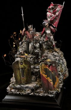 Band of Brothers. Old Swiss Confederacy - 15th cent. by Stanislav Kurylenko · Putty&Paint