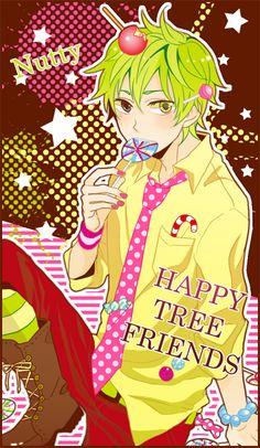 Happy Tree Friends (HTF)- Nutty #Anime