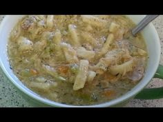 How I make Homemade ~Chicken Noodle Soup~ - YouTube