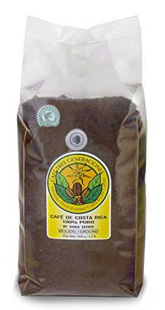Decaffeinated Doka Coffee  Ground 22lb  1kg >>> This is an Amazon Associate's Pin. Click this Amazon Affiliate link for more details.
