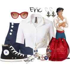 """""""Prince Eric - Summer - Disney's The Little Mermaid"""" by rubytyra on Polyvore"""