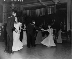 1945 USO dance, Hayward, CA. My grandparents met at one of these!