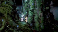 {Princess Mononoke- Kodamas} by {Edward van Polstsky}