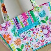 Busy Bees Child's Tote Little Girls Bag - via @Craftsy