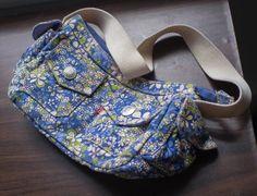Levis purse - Flower Print