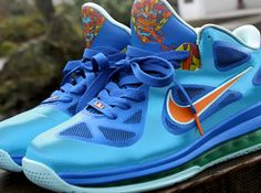 dfc920fc86f nike lebron 9 low china customs by kurtzastan 4 Nike LeBron 9 Low China  Customs by Kurtzastan