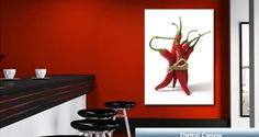 Red Hot Chili Peppers artist digital canvas