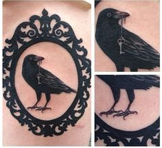 raven tattoo meaning - Google Search