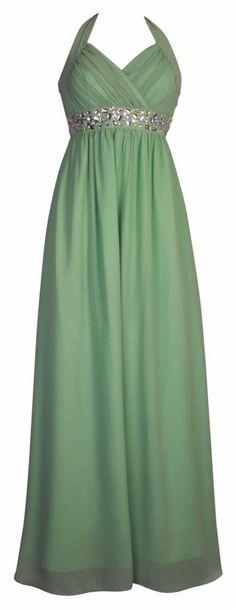 7258a8570128 Lange Neckholder Kleider für Damen Cocktailkleider Abendkleider lange  Ballkleider Maxikleider Kleid Frauen Türkis  Amazon.de  Bekleidung