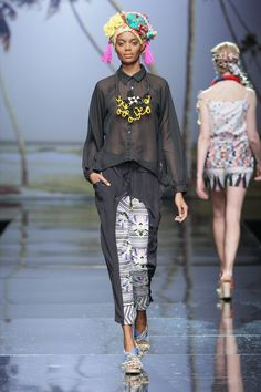 Pichulik on Lalesso Runway SS 2013