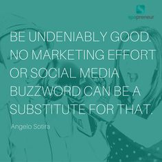 Nothing replaces being good - so be as good as you can be and ensure your staff knows, loves, and embraces your brand standards! Trust us your clients will notice!