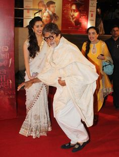 Amitabh Bachchan, Sridevi and Other celebs @ Asha Bhonsle's Debut Film 'Mai' Premiere Show