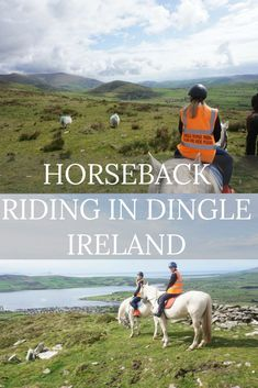 During our time in Ireland, two areas really stood out as our favorites, Doolin and Dingle.  While in Dingle we were able to drive The Slea Head Drive and Connors Pass, go kayaking and fit in a horseback ride. We had an amazing time on our trail ride. #horseback #dingle #ireland