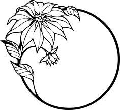 Christmas flower by liftarn