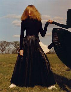 Agnes Nieske, Aya Jones, Estella Boersma, Willow Hand by Jamie Hawkesworth for Vogue UK September 2015