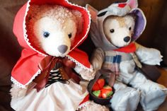 Duffy Shelliemay plush bears outfit doll by PureTeaHandmade