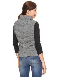 Gap | Herringbone puffer vest Vest Coat, Puffer Vest, Style Wish, Style Me, Herringbone, Everyday Fashion, Gap, Fashion Ideas, Moda Femenina