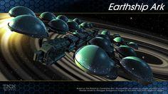 Earthship Ark by AbaKon.deviantart.com on @DeviantArt