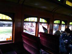 Inside the train, Halloween Train, Railway Museum, Train Rides, Home Decor, Decoration Home, Room Decor, Home Interior Design, Home Decoration, Interior Design