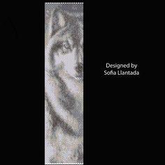 Wolf Peyote Stitch Pattern von MexicanJeweler auf Etsy