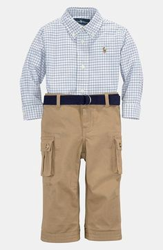 Ralph Lauren Shirt & Pants (Infant) available at Nordstrom