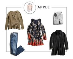 Keep reading for simple tips and tricks for dressing for your body shape this season.  How To Wear Layers If You're An Apple Shape First things first—a little body shape 101. If you're an apple, this might be how you'd describe yourself: You tend to carry their weight in the middle You have long, lean limbs …