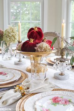 Creating a Simple Table Setting When You Have No Time - designthusiasm.com