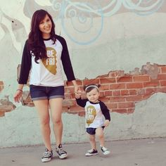 Gold Heart BFF Tee Set – Indie Nook || Brin and I need these!!