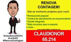 #Claudionor65214  #politica  #eleicoes2012  #elections2012  #RenovaContagem
