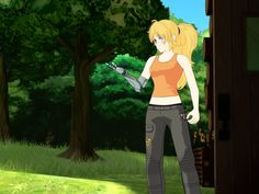 RWBY volume 4 episode 4 // LOOK AT MY BABY GETTING BACK ON HER FEET THANK YOU. I MISSED ME HAPPY SUN DRAGON PLS CONTINUE TO BE HAPPY