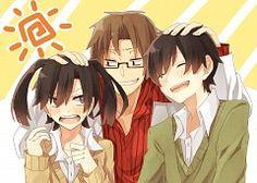 Kenziro, Takane and Haruka