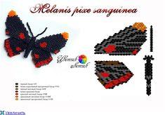 Бабочки полетели | biser.info - всё о бисере и бисерном творчестве